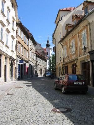 Gornji trg c cerkvico sv. Florjana