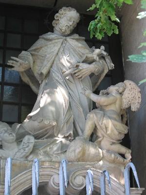 Janez Nepomuk, cerkev sv. Florjana